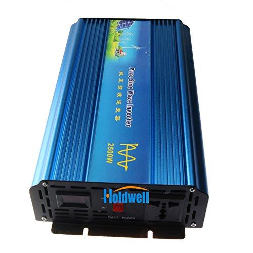 Holdwell DC 12V to AC 220V AC200-240V Power Pure Sine Wave Inverter (220 Copier)
