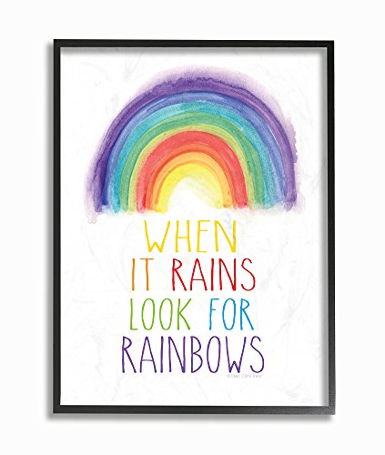 Stupell Home Décor Look for Rainbows Framed