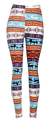 Mirity Fashion Printed Leggings Slimming product image
