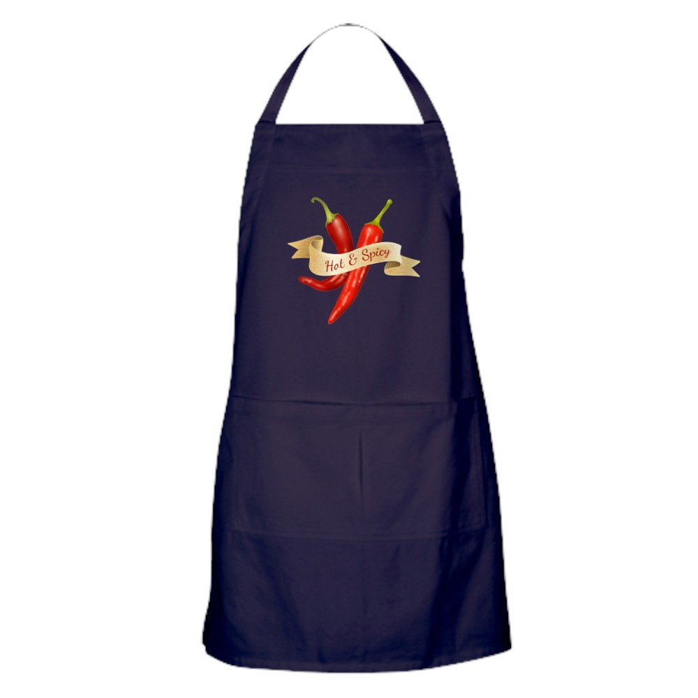 Apron (Dark) Hot & Spicy Chili Peppers