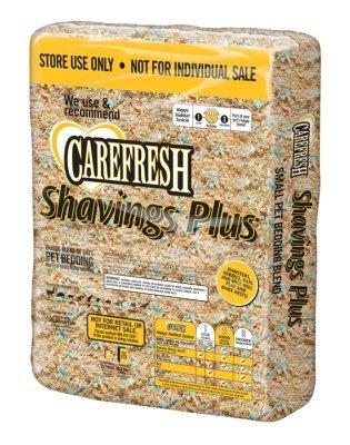 Care Fresh Litter SAB100269 Absorption Carefresh Shavings Plus Store Use Pet Bedding, 60-Liter by Care Fresh Litter