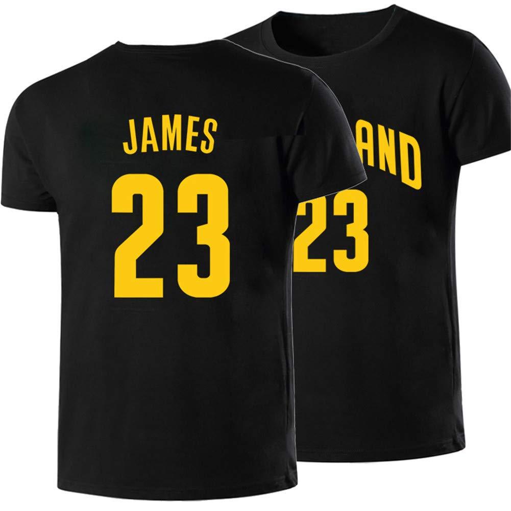Shocly Manga Corta Camiseta Lakers De Los Angeles James Kobe ...