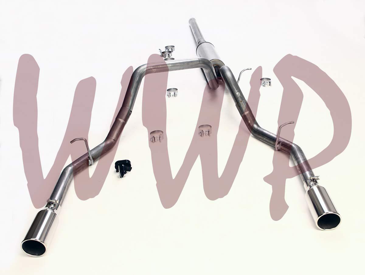 "Stainless Steel SS409 3"" Dual Split"