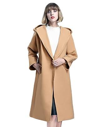 cappotto con cintura donna lungo