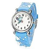 Fashion Brand Quartz Wrist Watch Baby Children Girls Boys Watch Dolphin Design Waterproof Watches