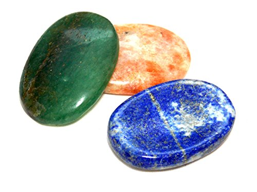 Mixed Set of 3 Worry Stones