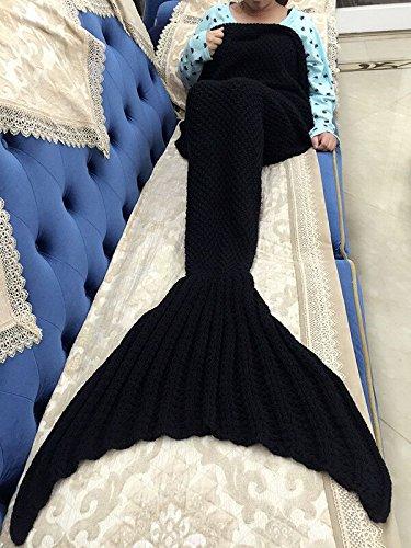 LAGHCAT-Mermaid-Tail-Blanket-Knit-Crochet-and-Mermaid-Blanket-for-AdultSleeping-Bags