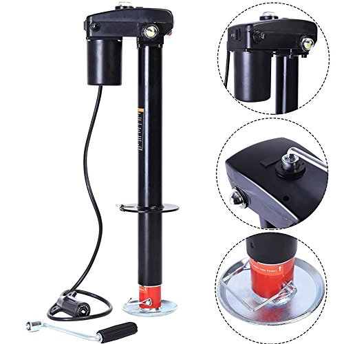 3500lbs Electric Power Tongue Jack RV Boat Jet Ski A-Frame Trailer Camper 12V TKT-11 by TKT-11