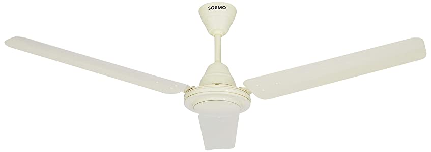 Amazon Brand - Solimo Swirl 1200mm Ceiling Fan (Ivory)