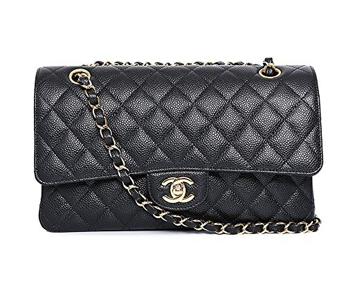quilted chain handbag - 3
