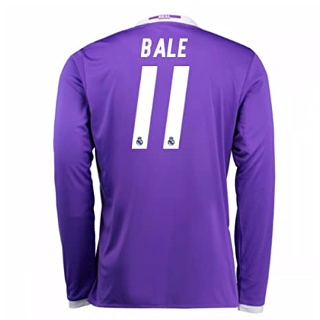 34c685511 Image Unavailable. Image not available for. Color  2016-17 Real Madrid Away  Football Soccer T-Shirt Jersey (Gareth Bale 11
