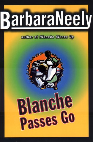 book cover of Blanche Passes Go