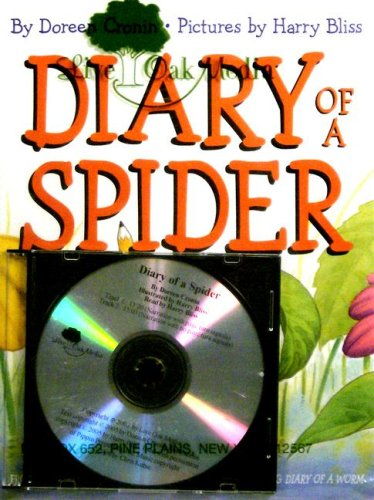 Diary of a Spider (1 Hardcover/1 CD)