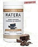 Best Hemp Protein Powder (454 g) Dark Chocolate | NATERA Vegan Plant Based