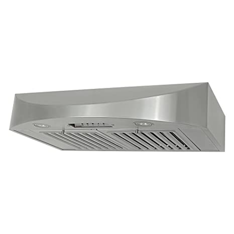 KOBE CHX3830SQB 2 Brillia 30 Inch Under Cabinet Range Hood, 3 Speed