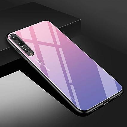 Amazon.com: Funda protectora de vidrio templado para Huawei ...
