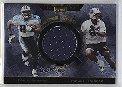 f7bc70289e1 Image Unavailable. Image not available for. Color: Eddie George; Yancey  Thigpen; Steve McNair; Kevin Dyson (Football Card) 1999