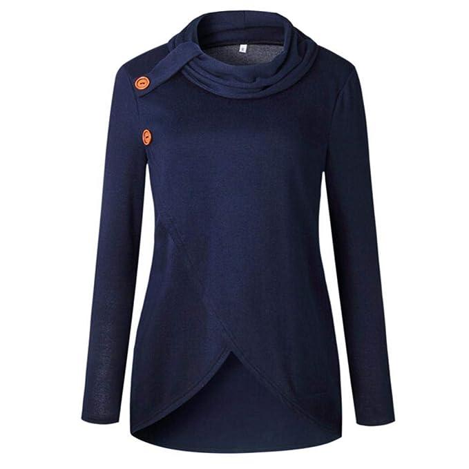 HWTOP Damen Oberteil Hemd Löcher Pullover Sport Hoodies