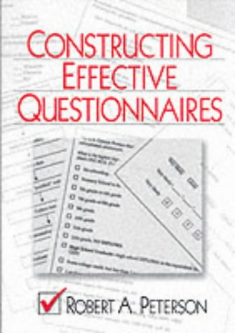 Constructing Effective Questionnaires