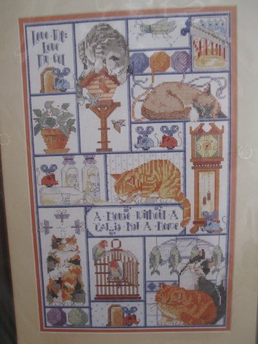 Cat, Cats, Cats Counted Cross Stitch