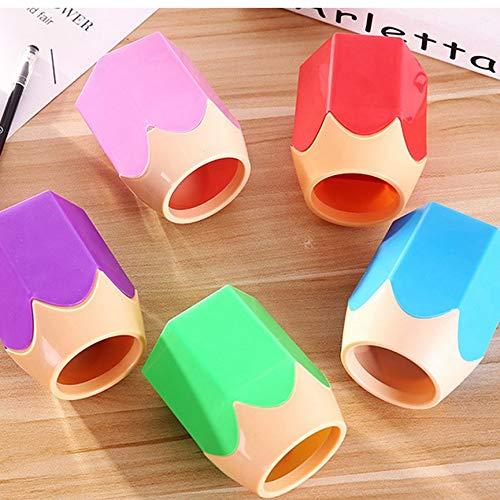 Rose VCB Stylo cr/éatif Vase Crayon Pot Porte-Stylo Papeterie Bureau Contenant Bien rang/é