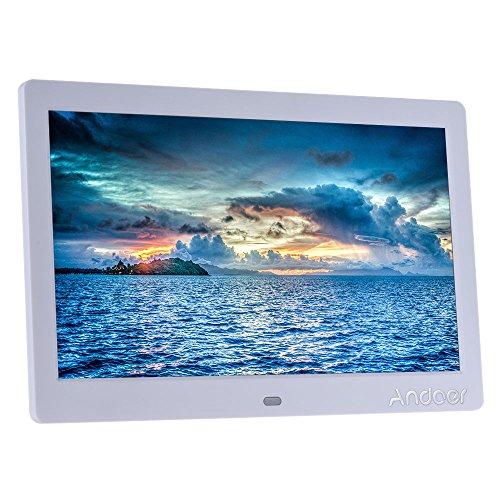 Andoer 10 inch HD LCD Digital Photo Picture Frame Wide
