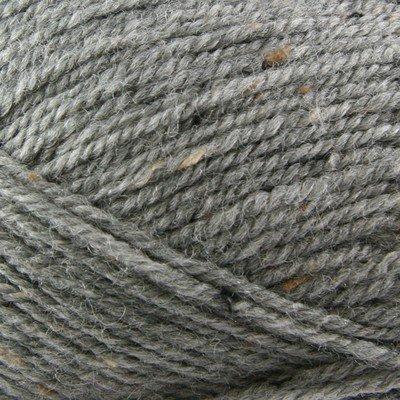 Plymouth (1-Pack) Encore Worsted Tweed Yarn Grey ()