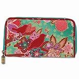 Karma Boho Bird Henna Zip Wallet