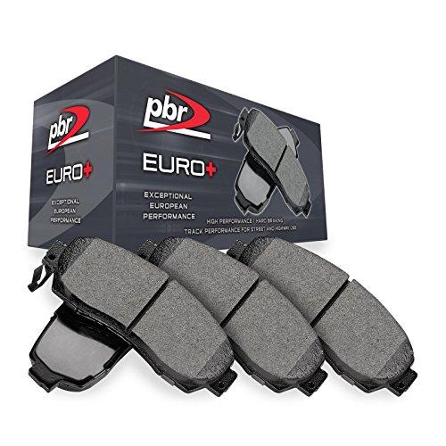 Rear PBR Euro+ Brake Pads-Hybrid Brake Pad Compound 3451-0683-00