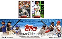 2012 Topps Baseball Exclusive 666 Card Factory Sealed Factory Retail Set with Two Bryce Harper Variation Rookie Cards