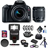 Canon EOS Rebel SL2 DSLR Camera 18-55mm Lens Combo Kit