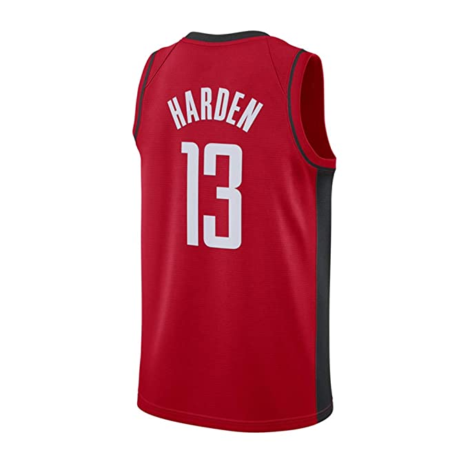 Hombre Ropa de Baloncesto NBA Houston Rockets 13# Harden 0 ...