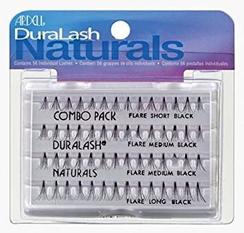 3fd7e21b3c8 Ardell Eyelashes Duralash Naturals Knot Free - Combo Pack: Amazon.co.uk:  Beauty
