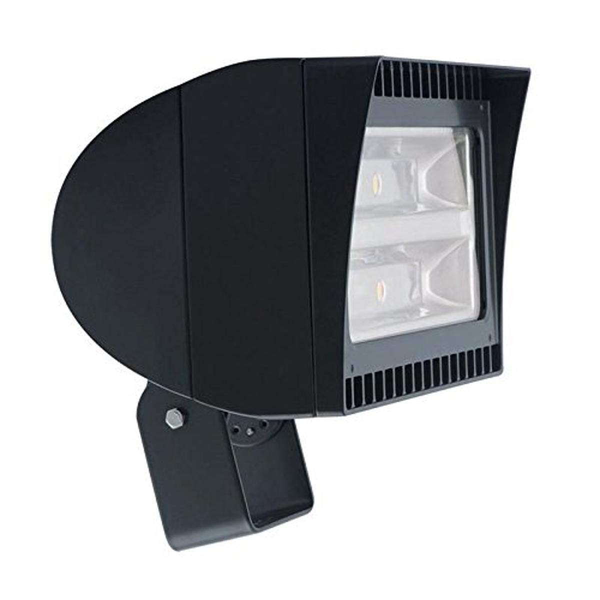 RAB FXLED150T 150W LED Landscape, Flood Light Fixture, 120 208 240 277V, Bronze Finish, Multi