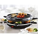 Trudeau Maison Misto Raclette Party Grill - Set of 14 (Black)