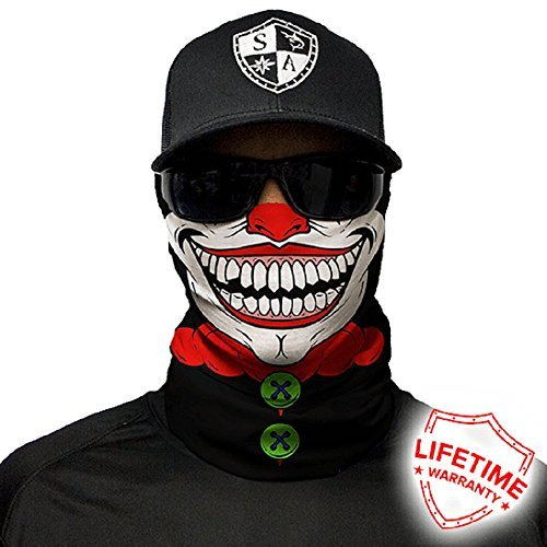 Salt Armour Face Mask Shield Protective Balaclava Alpha Defense (Clown) ()