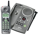 Uniden TRU-448 2.4 GHz DSS Cordless Phone with Caller ID and Digital Answering System (Graphite)