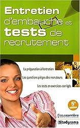 Entretien d'Embauche et Tests de Recrutements 5 Edt