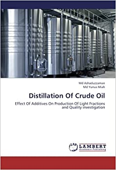Distillation Of Crude Oil: Effect Of Additives On Production Of Light Fractions and Quality investigation