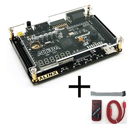ALINX AX301C: ALTERA Cyclone IV EP4CE6 (FPGA Development Board + USB Downloader)