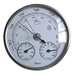 Temperature Meter Analog Thermometer Hygrometer Temperature Himidity Meter Weather Index 30 50 Celsius Room Indoor Wall Hanging Household