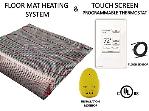 60 Sqft Warming Systems 120 V Electric Tile Radiant Floor He