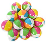 "Kangaroo 12"" Inflatable Neon, Rainbow Beach Ball, 12-Pack; Pool Toys; Beach Balls"
