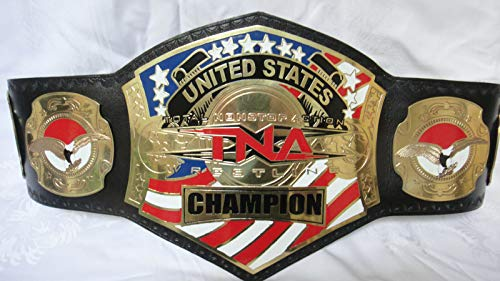 TNA United States Wrestling Championship Belt Replica Title Adult Size
