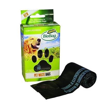 Bolsas de basura biodegradables bolsas de residuos perro/mascotas en un rollo 45 cada caja