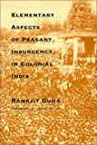Elementary Aspects of Peasant Insurgency in Colonial India