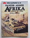 Front cover for the book Panzer Army North Africa (Tanks Illustrated) by Peter Gudgin