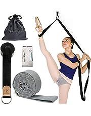 Leg Stretcher Band Flexibility Dance Stretch Strap Adjustable for Dance Ballet Gym Yoga Taekwondo Easy to use on The Door