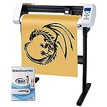 "MKCUTTY 27"" Vinyl Cutter Sign Cutting Plotter Machine With SignMaster (Design + Cut) Software"