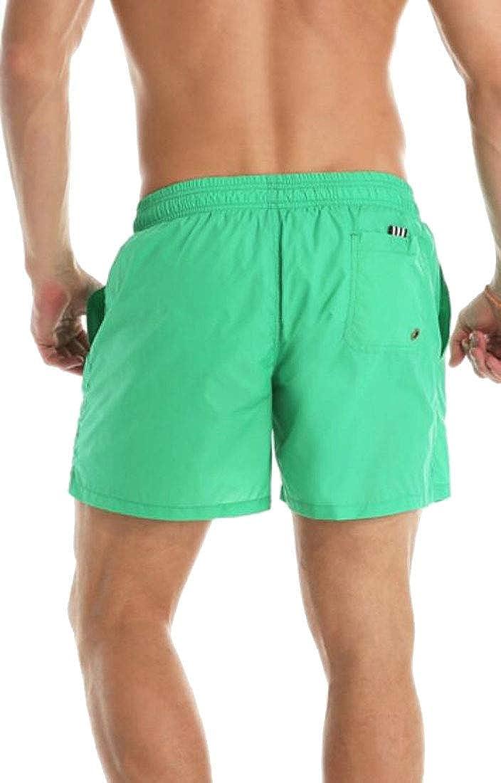 UNINUKOO Unko Men Quick Dry Beach Swim Shorts Bathing Suits Boardshorts Swim Trunks